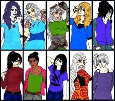 GA: OC Bookmarks 2 by punkette180