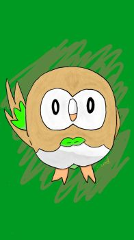 Rowlet - Final by jrodicon