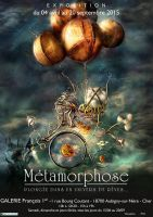 Poster Exhibition Metamorphose by senyphine