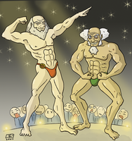 Battle of the Buff WTF by Booter-Freak