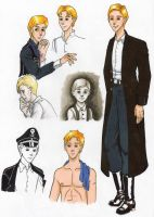 Fritz doodles by DieWalkyrie