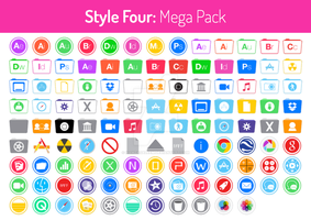 Style Four Mega Pack by hamzasaleem