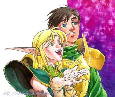 Lodoss - new year by witch-hecate