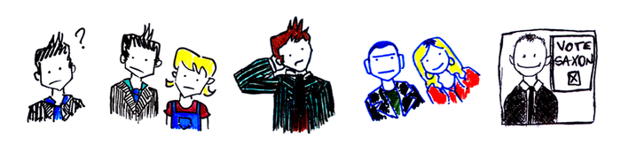 Doctor Who Tinies by aimsleydale