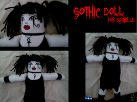 Gothic Doll 2 by cheese-stick