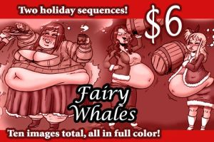 Fairy Whales by Yer-Keij-fer-Cash