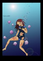 Jellyfish Trouble by TheStorm