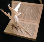 Bookart 'Flight of the Old Dog by striker313