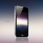 Half - Wallpaper for iPhone by zomx