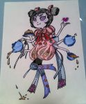 Muffet with style by hellogoodbye2222