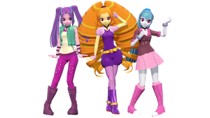 MMD EG The Dazzlings DL by frede15
