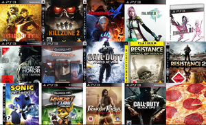 my  ps3  games by Zack-Farron