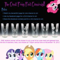 CONTEST OVER! - The Great Pony Pint Giveaway!! by Yukizeal