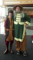 Zuko and Iroh by KingPotatoes