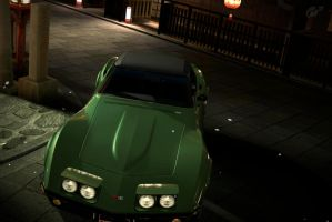 GT5 1969 Corvete Convertable by Worlds-of-Danger