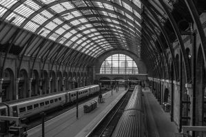 Kings Cross Engine Sheds by daliscar