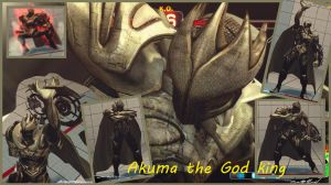 Akuma The God king by salimano3