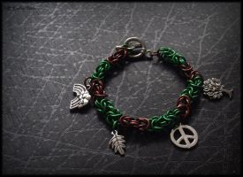 Hippy chainmaille by Marjolijn-Ashara