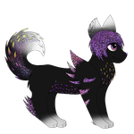 :Closed: Galaxy Creature :Auction: by Meloetta-Melodies
