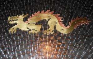 Brass Copperfur Eastern Dragon by Seitira