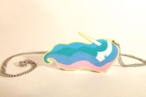 Princess Celestia Necklace by Enuwey