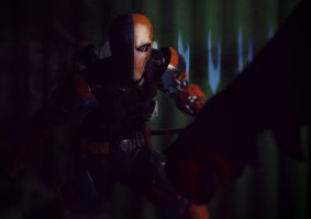 Deathstroke first blood by zosco