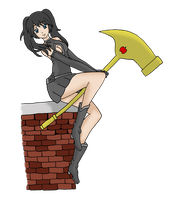 Eris and the Hammer of Discord by Kyt666