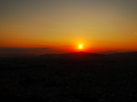 Greece -36- : Sunset -1- by IoannisCleary