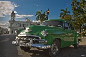 Cuban Car by Serch1218