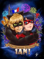 Miraculous 1st year by BurningArtist
