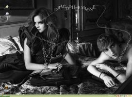 Dramione wallpaper 101 by Dhesia