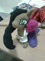 Esmerelda Pony Plush by valaina-williams