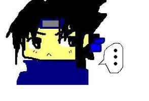 Sasuke on PAINT by KirakoRora
