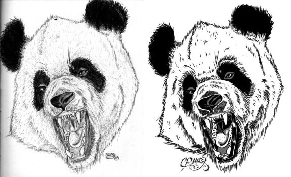 Panda by CrunG-official