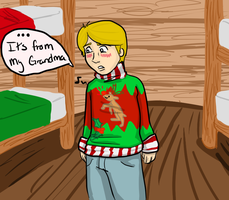 DR: Christmas Sweater by MousieDoodles