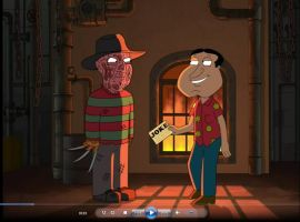 Freddy Krueger in Family Guy by Ulla-Andy