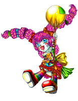 Lol-ita the clown by miyukiZETA