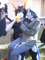 Homestuck - Gamzee and Neptia by TheSapphireDragon1