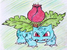 2 - Ivysaur by JacobMace