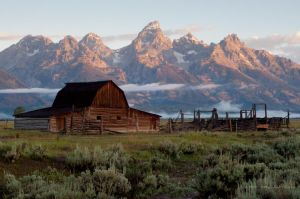 Mormon Row Barn by jdmimages