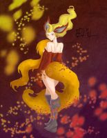 No. 136 Flareon by jayoh28