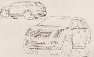 A Future Cadillac Escalade WIP by SeawolfPaul