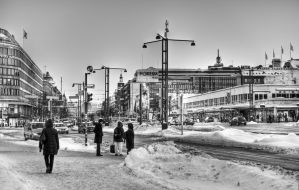 In the heart of Helsinki by valkeeja