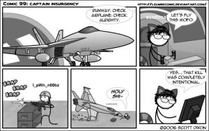Comic 99: Captain Insurgency by lolwebcomic