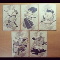 Makabayan Post Cards by kaicastle