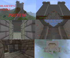 Minecraft Creations - BlaseTH's Castle Preview by blase005