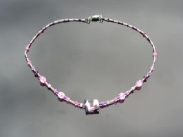 Pink Cheetah Necklace by LancerAdvanced