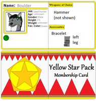 Boulder Membership card by AutumnMiracles