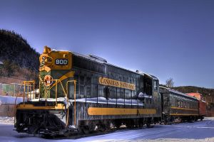 HDR Trains by Witch-Dr-Tim