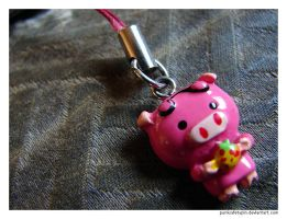 Pink Pig by punksafetypin
